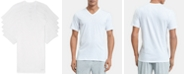 Calvin Klein Men's 5-Pk. Cotton Classics Slim V-Neck Undershirts