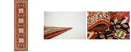 """Bridgeport Home Charvi Chr1 Terracotta 2' 7"""" x 10' Runner Area Rug"""