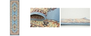 "Bridgeport Home Birsu Bir1 Light Blue 2' 7"" x 10' Runner Area Rug"
