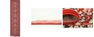 """Bridgeport Home Arnav Arn1 Red 2' 7"""" x 10' Runner Area Rug"""