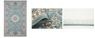 Bridgeport Home Zara Zar5 Blue 5' x 8' Area Rug