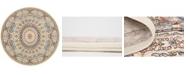 Bridgeport Home Zara Zar9 Ivory 10' x 10' Round Area Rug