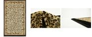 "Bridgeport Home Maasai Mss9 Light Brown 3' 3"" x 5' 3"" Area Rug"
