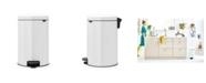 Brabantia Step Trash Can NewIcon, 5.3 Gallon