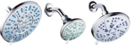 Aquadance Antimicrobial Shower Head Bath Collection