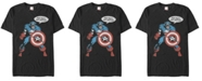 Marvel Men's Comic Collection Captain America For Truth And Justice Short Sleeve T-Shirt