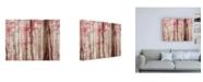 "Trademark Global Brooke T. Ryan Pink & Brown Fantasy Forest Canvas Art - 27"" x 33.5"""