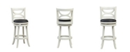 "Boraam Florence Collection 29"" Swivel Bar Stool"