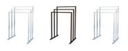 Kingston Brass Modern Pedestal 3-Tier Steel Construction Towel Rack