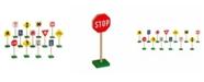 Guidecraft, Inc Guidecraft Block Play Traffic Signs