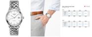 Longines Men's Swiss Automatic Flagship Stainless Steel Bracelet Watch 38mm