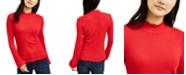 American Rag Juniors' Mock-Neck Top, Created for Macy's