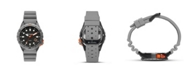Columbia Men's Pacific Outlander Gray Silicone Strap Watch 42mm