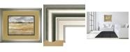 "Classy Art Meadow Shimmer I by Nan Framed Print Wall Art, 34"" x 40"""