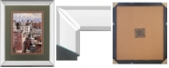 "Classy Art Big Apple by D Lourengo Mirror Framed Print Wall Art, 34"" x 40"""