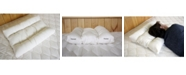 Holy Lamb Organics Natural Orthopedic Neck Pillow with Organic Cotton Sateen Encasement