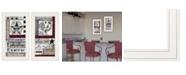 "Trendy Decor 4U Family Wisdom 2-Piece Vignette by Linda Spivey, White Frame, 12"" x 21"""
