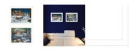 """Trendy Decor 4U Home for the Holidays Collection By Jim Hansen, Printed Wall Art, Ready to hang, White Frame, 18"""" x 14"""""""