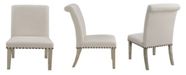 Coaster Home Furnishings Gabriel Parson Dining Chairs with Nailhead Trim, Set of 2
