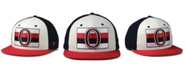 Authentic NHL Headwear Ottawa Senators Tri-Color Throwback Snapback Cap