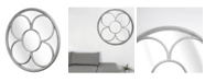 Crystal Art Gallery American Art Decor Oversized Decorative Wood Wall Vanity Mirror