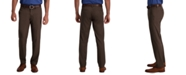 Haggar Men's Cool 18 Pro Classic-Fit 4-Way Stretch Moisture-Wicking Non-Iron Dress Pants