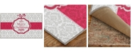 Mohawk Christmas Damask Accent Rugs