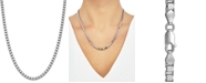 """Giani Bernini Box Link 20"""" Chain Necklace in Sterling Silver"""