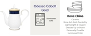 Noritake Odessa Cobalt Gold Coffee Server, 48 Oz.