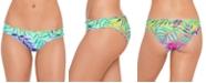 Salt + Cove Juniors' Tropical Punch Printed Ruffled Hipster Bikini Bottoms, Created for Macy's
