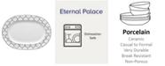"Noritake  Eternal Palace Oval  Platter 14"""