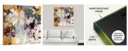"""GreatBigCanvas 36 in. x 36 in. """"Orchid Pattern"""" by  Jodi Maas Canvas Wall Art"""