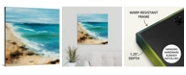 "GreatBigCanvas 24 in. x 24 in. ""Coastal Breeze"" by  Sydney Edmunds Canvas Wall Art"