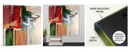 "GreatBigCanvas 'Kink' Canvas Wall Art, 16"" x 16"""