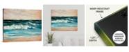 """GreatBigCanvas 30 in. x 24 in. """"Ocean Light II"""" by  Sydney Edmunds Canvas Wall Art"""