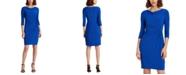 Lauren Ralph Lauren Petite Twisted-Knot Jersey Dress