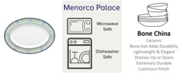 Noritake Menorca Palace Medium Oval Platter