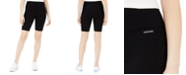 Calvin Klein Jeans High-Waist Ribbed Bike Shorts
