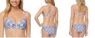 Raisins Juniors' Aquarius Rising Moonshadow Underwire Bikini Top
