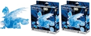 BePuzzled 3D Crystal Puzzle - Dragon Blue - 56 Pieces