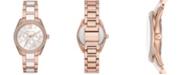 Michael Kors Women's Janelle Multifunction Two-Tone Stainless Steel Braclet Watch 36mm MK7131