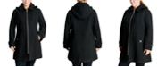 Michael Kors Plus Size Hooded Coat, Created for Macy's