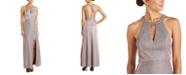 Morgan & Company Juniors' Halter-Neck Gown