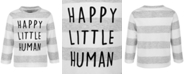 First Impressions Baby Boys Happy Little Human Long-Sleeve T-Shirt, Created for Macy's