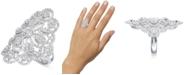Macy's Diamond Filigree Statement Ring (1-3/5 ct. t.w.) in 14k White Gold