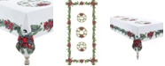 """Laural Home Christmas Trimmings Tablecloth - 70"""" x 144"""""""