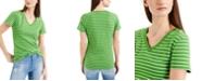Tommy Hilfiger Cotton V-Neck T-Shirt