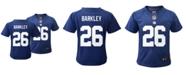 Nike New York Giants Saquon Barkley Baby Game Jersey