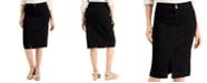 Charter Club Denim Midi Skirt, Created for Macy's