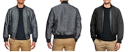 Tallia Men's Slim Fit Texture Print Bomber Jacket and a Free Face Mask